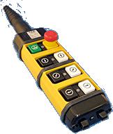 Ter push button crane pendant control stations springer controls aloadofball Choice Image