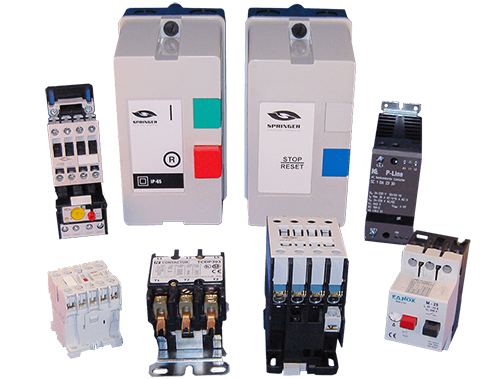 ELECTRICAL CONTACTORS & STARTERS