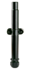 Pole Mount with Strain Relief for Outdoors