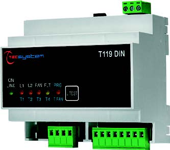 T119 - 3 inputs w/ DIN Rail Mount