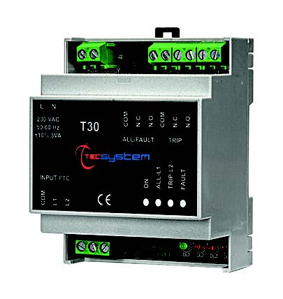 T30 - 2 inputs with DIN Rail mount