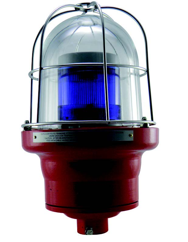 Explosion proof single color multifunction light
