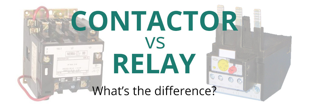 2 pole contactor wiring diagram hvac contactor vs relay what s the difference   contactor vs relay what s the difference